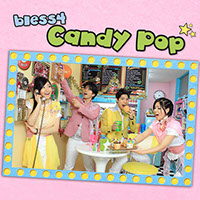 CD Cover bless4 Candy Pop